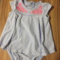 Body vestidinho - 9 meses - Carter`s