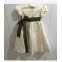 Vestido longo Festa - 24 a 36 meses - Emanuelle