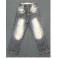Linda Calça Jeans com Puído