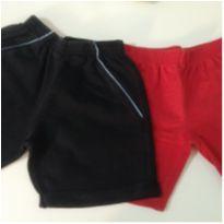 2 shorts 1 preço - 2 anos - Não informada