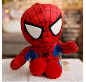 Boneco de Pelúcia Homem Aranha - Marvel - Sem faixa etaria - Importada
