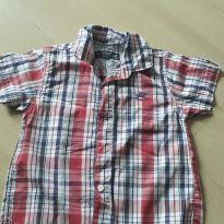 Camisa xadrez - 6 a 9 meses - Up Baby