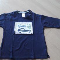 Camisa azul - 12 a 18 meses - H&M