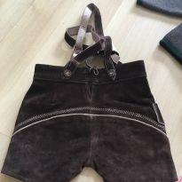 Conjunto roupa alemã infantil - 12 a 18 meses - Diversas