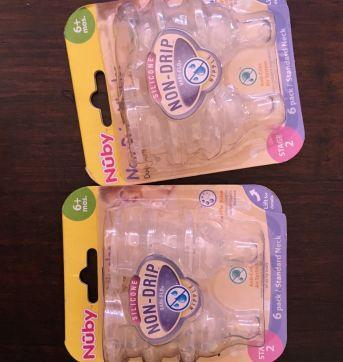 Kit de Bico de mamadeira lacrado - Sem faixa etaria - Nuby USA