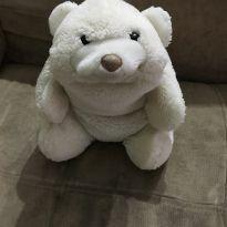 Urso Branco pelucia -  - Baby Gund