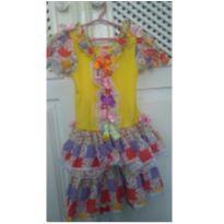 Vestido caipira - 4 anos - Artesanal