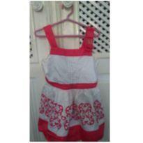 Vestido arabesco coração - 3 anos - Milon