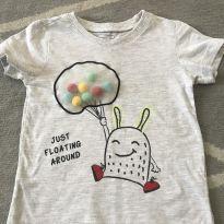Camiseta interativa - 1 ano - Renner