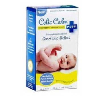 Colic Calm Plus - Solução Homeopática para alívio da cólica em bebês - Sem faixa etaria - COLIC CALM