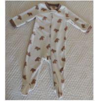 Macacão Carter`s Fleece Importado - 9 meses - Estampa Ursos - 9 meses - Carter`s