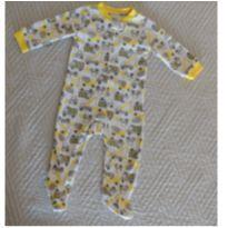 Macacão Carter`s Fleece Importado - 9 meses - Estampa Costrutores - 9 meses - Carter`s