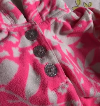 Blusa fleece Carter`s - 18 a 24 meses - Carter`s