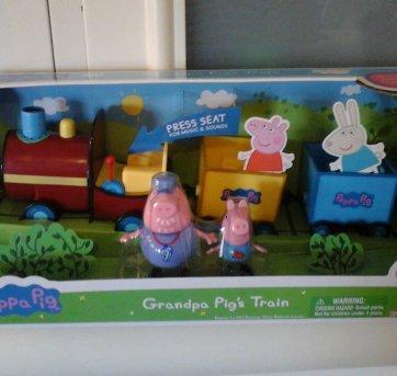 Trem do Vovô Pig - Peppa Pig