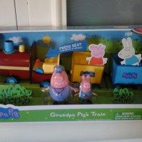 Trem do Vovô Pig - Peppa Pig - Sem faixa etaria - Peppa Pig
