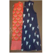 Dupla de vestidos BB Básico - 4 anos - BB Básico