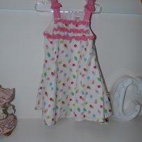 Vestido sorvetinho - 18 a 24 meses - Gymboree EUA - 2 anos - Gymboree
