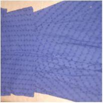 Vestido de lasie azul marinho Zara - 7 anos - Zara