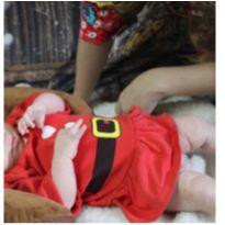 Vestido temático Natal - 3-6 meses G - 3 meses - Gente Miúda
