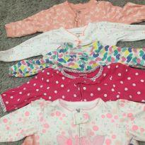 Lote Macacão Carter's / George baby 3-6 meses 5 pçs - 3 a 6 meses - Carter`s e George
