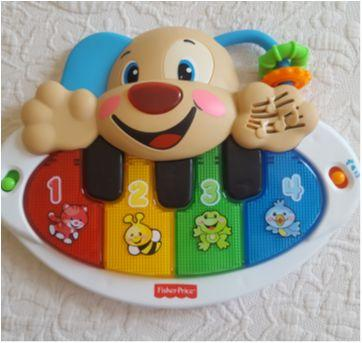 Piano musical Fisher Price - Sem faixa etaria - Fisher Price