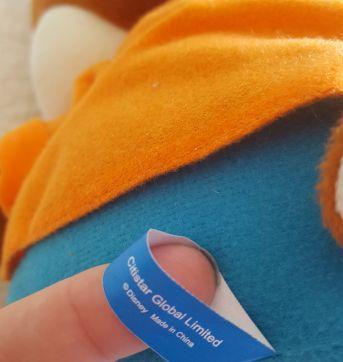 Pelúcia Alvin e os Esquilos versão Halloween - Sem faixa etaria - Disney
