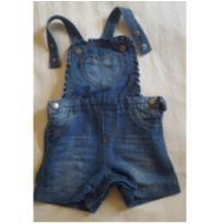 Macaquinho jeans - 12 a 18 meses - Baby Club