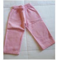 Calça moletom rosa - 2 anos - Vrasalon