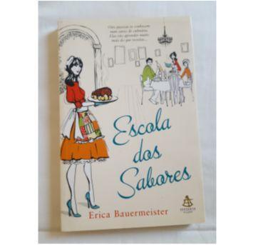 "Livro ""Escola de sabores"" - Sem faixa etaria - Sextante"