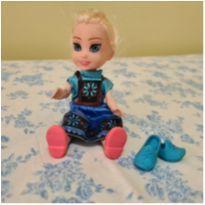 Mini boneca Anna - Frozen -  - Não informada ( Replica)