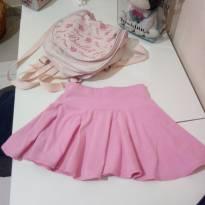 Kit ballet saia + mochila