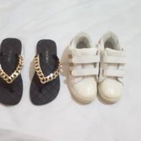 Kit sapatos tamanho 32/33