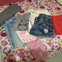 Lote roupas tamanho 10 11 14
