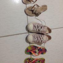 Kit sapatos tamanho 32