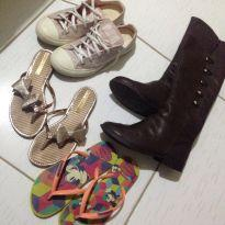 Lote de sapatos infantil tamanho 31 e32