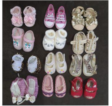 12 pares de sapatinhos femininos - 15 - Pimpolho e Kito baby
