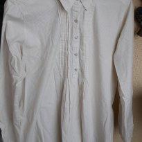 Camisa Social GESTANTE pouco usada Tam 46 - G - 44 - 46 - Não informada