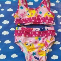 Biquini Sereia usado uma vez PUKET Tam P (veste 6/9 meses) - 6 meses - Puket