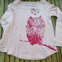 Camiseta manga longa importada Crazy8 somente lavada Tam 7/8 - 7 anos - Crazy 8