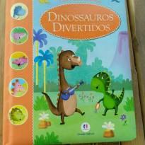 Livro Dinossauros Divertidos (5 historinhas) como novo - Sem faixa etaria - Ciranda Cultural
