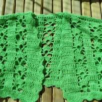 Bolero artesanal tricot Veste 5 (super charmoso) - 5 anos - Não informada