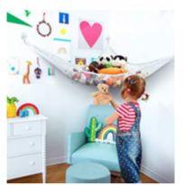 Rede suspensa para guardar brinquedos - comprada EUA -  - Sem marca
