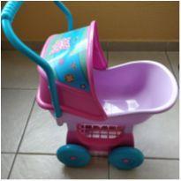 Carrinho Boneca Baby Alice - Cotiplás -  - Cotiplás