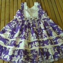 Vestido borboleta lindeza nunca usado  - Tam 4 - Verão - 4 anos - Não informada
