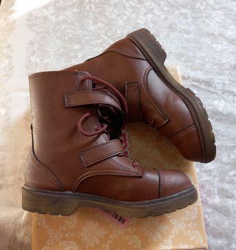 Bota marrom Molekinha - 33 - Molekinha