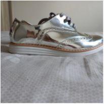 Sapato Oxford prata Vizzano - 34 - Vizzano