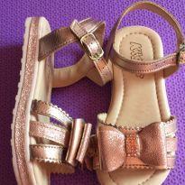 Sandália ouro rosé - 23 - KLASSIPE