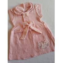 Vestido rosa - 1 ano - Hello  Kitty