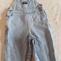 Jardineira jeans - 12 a 18 meses - OshKosh