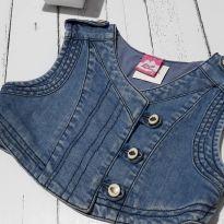 Colete jeans - 6 anos - Lilica Ripilica
